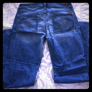 Seven for mankind jeans size 31